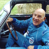 """LIFE BEGINS AT SEVENTY"". Stirling Moss claims that the advantage of losing one's hair at 21 is that thereafter one always looks the same age. Goodwood Festival of Speed 2000"